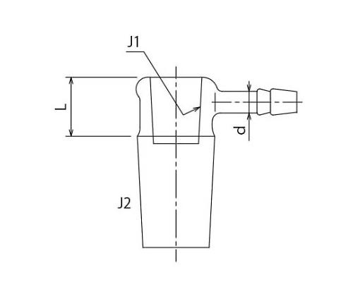 短型減圧用縮小アダプター
