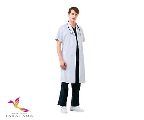 男子診察衣 半袖 CP0351