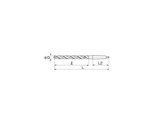 テーパーロングドリル 10.5×250×150 LTD10.5X250