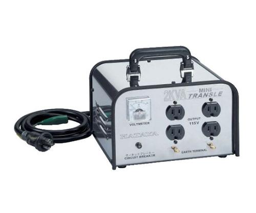 ミニトランスル 2.0KVA昇圧型 HV-02C
