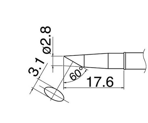 こて先 BC28 450℃ T31-01BC28