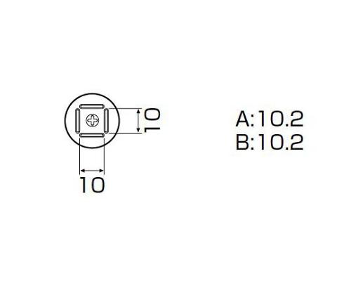 SMDリワーク用ノズル QFP 10×10mm A1125B