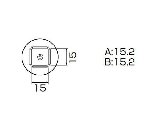 SMDリワーク用ノズル QFP 14×14mm A1126B