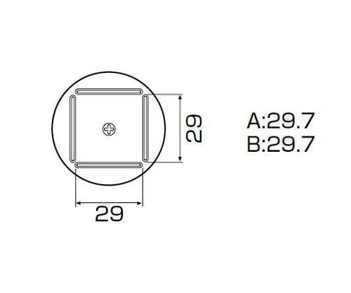 SMDリワーク用ノズル QFP 28×28mm A1129B