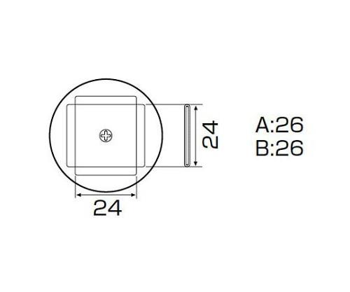 SMDリワーク用ノズル PLCC 25×25mm A1137B