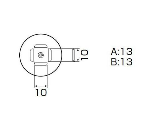 SMDリワーク用ノズル PLCC 11.5×11.5mm A1140B