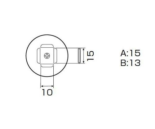 SMDリワーク用ノズル PLCC 11.5×14mm A1141B