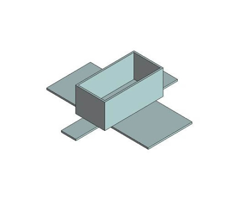 SMDリワーク用ノズル IC28ピン A1150
