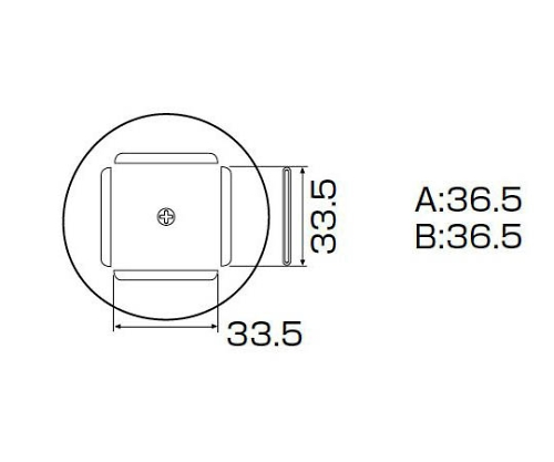 SMDリワーク用ノズル PLCC 34mm×34mm A1189B