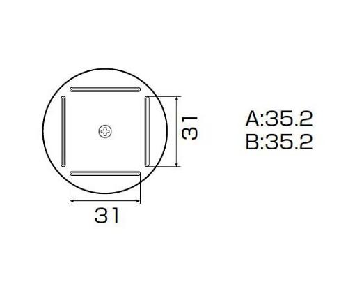 SMDリワーク用ノズル QFP 35mm×35mm A1203B
