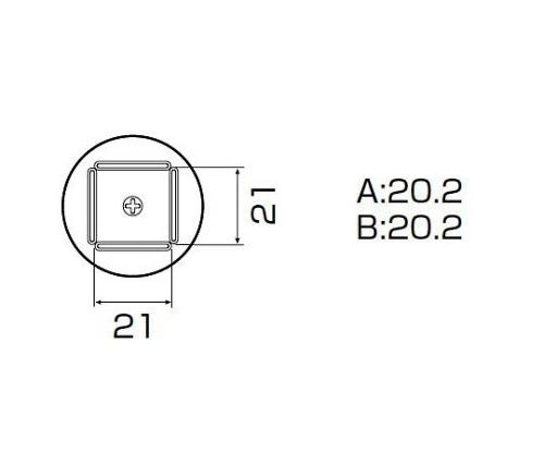 SMDリワーク用ノズル QFP20X20用 A1261B