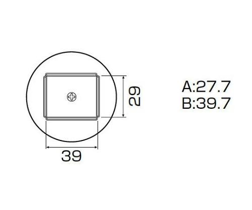 SMDリワーク用ノズル QFP28X40用 A1263B