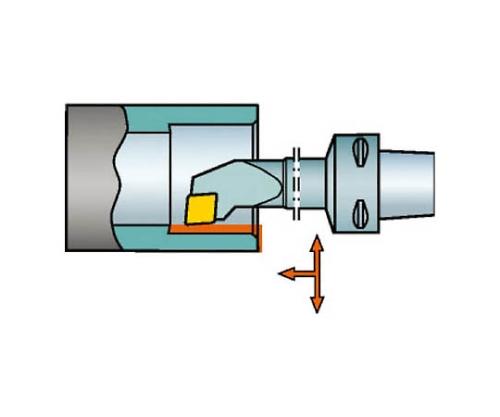 コロマントキャプト コロターン107用カッティングヘッド C4SCLCR2211012