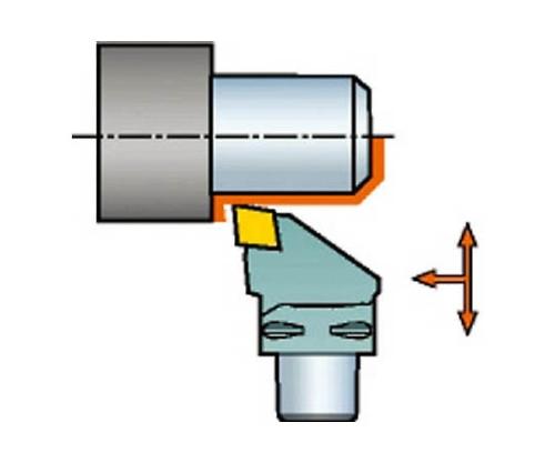 コロマントキャプト コロターン107用カッティングヘッド C4SCLCR2705012