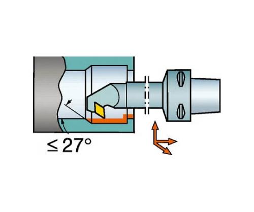 コロマントキャプト コロターン107用カッティングヘッド C4SDUCR1809007X