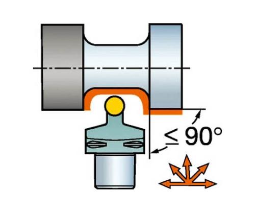 コロマントキャプト コロターン107用カッティングヘッド C4SRDCN0005010A