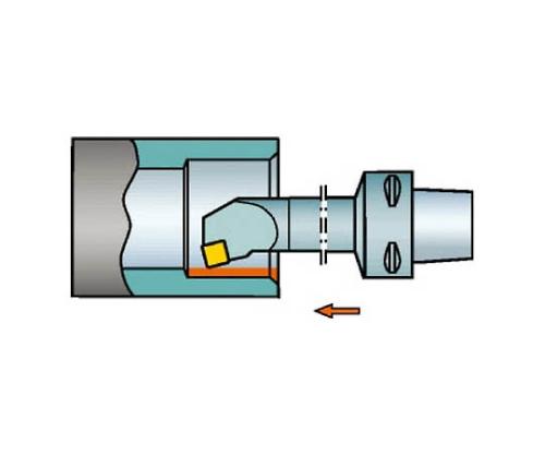 コロマントキャプト コロターン107用カッティングヘッド C4SSKCR1308009