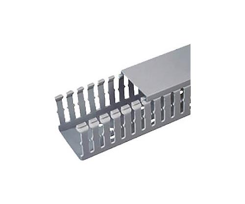 Fタイプ配線ダクト(PVC製 鉛フリー) ライトグレー F1X1.5LG6