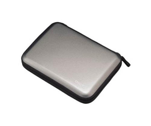 [取扱停止]ポータブルHDDケースセミハードタイプ(グレー) HDC001GY
