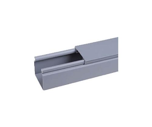 ヒンジタイプ密閉型配線ダクト(PVC製 鉛フリー)ライトグレー HS4X4LG6NM