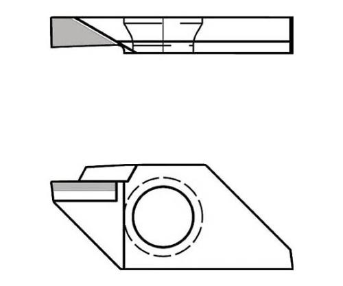 旋削用チップ KPD001 ダイヤモンド TKF12L250ASR