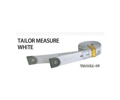 テーラーメジャー1.5m 余白有 白/白