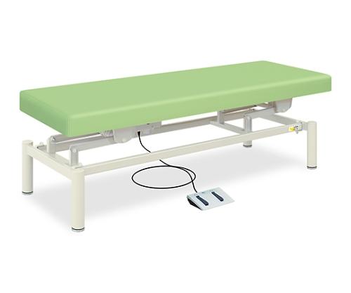 電動HSベッド 幅50×長さ180×高さ45~83cm ライトグリーン TB-806
