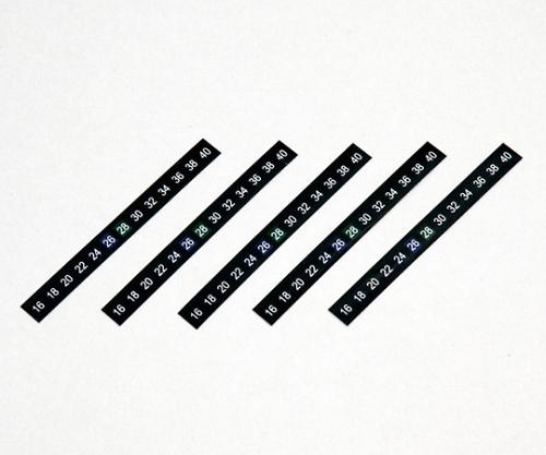 横型液晶温度計(5枚セット)