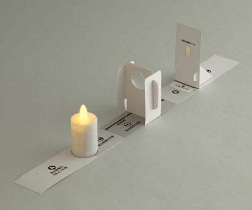 レンズの性質実験セット(簡易光学台)