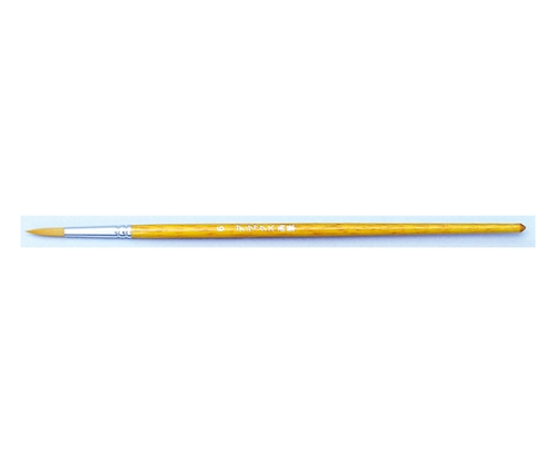 ナイロン水彩画筆(茶毛)