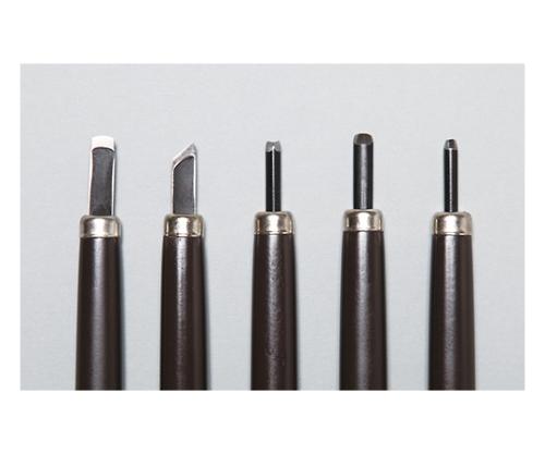 [取扱停止]ウッディ彫刻刀 5本組(右用)