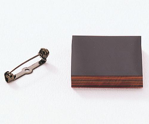 [取扱停止]堆朱工芸 ブローチA 37353