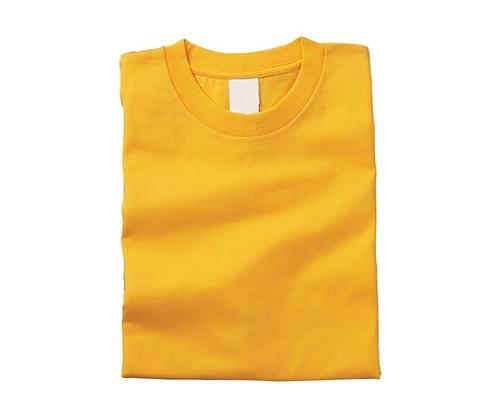 [取扱停止]カラーTシャツ XL 10イエロー 38732