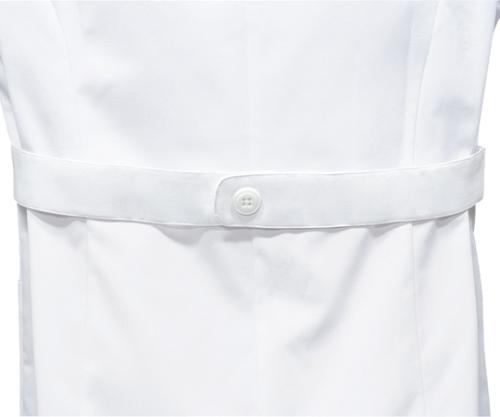 女子診察衣S 長袖 白 71-121 S