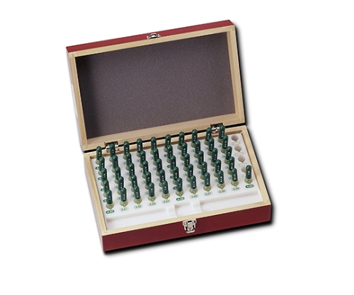 超硬シャンク付ピンゲージセット 0.50-1.00mm