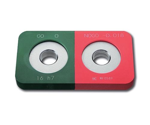 鋼限界リングゲージ 保護カバー付 φ7 h7 HKLR7-h7