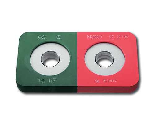 鋼限界リングゲージ 保護カバー付 φ16 h7 HKLR16-h7