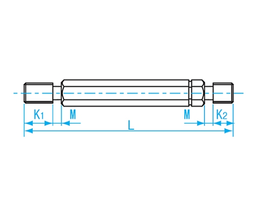 限界ねじプラグ検査用 M7×P1.0 GPIP2-0710