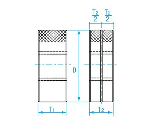 限界ねじリング検査用 M2.5×P0.45 GRIR2-025045