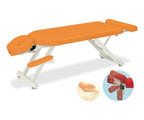 MRスリム 幅55×長さ180~210×高さ40cm オレンジ TB-1054