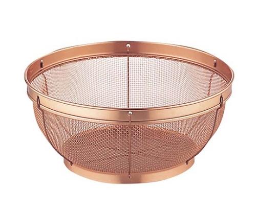 [取扱停止]ピュリティ 純銅 キッチンザル 22cm
