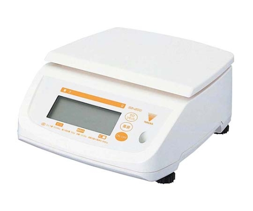 [取扱停止]防水型デジタルはかり テンポ DS-500 10Kg 5502010