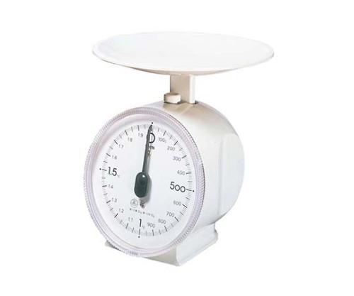 [取扱停止]アナログクッキングスケール タニエクボ 1431 1kg ホワイト