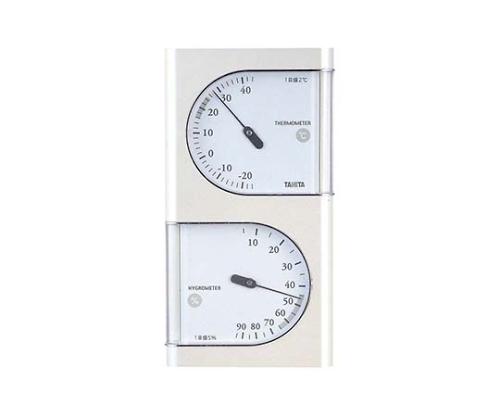 温湿度計 パールホワイト TT-518 PR