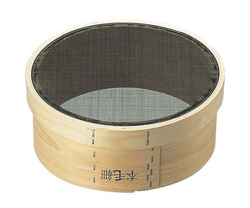 [取扱停止]木枠 裏漉し 本馬毛 細目(2本毛)尺1(33cm)