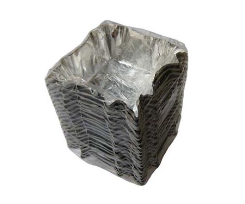アルミ ホイルケース(スエルケース)四角型バラ(500枚包) 3719100