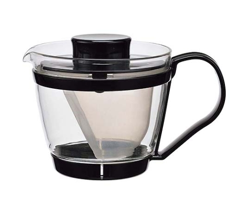 イワキ レンジのポット茶器(ブラック)K863-BK