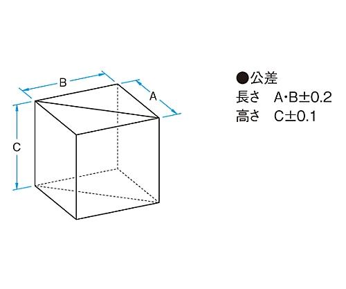 偏光ビームスプリッター 632.8nm 20mm