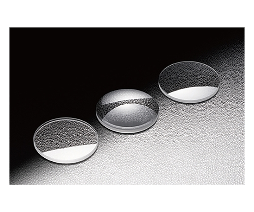 球面平凸レンズ BK7 φ12.7mm 焦点距離80mm