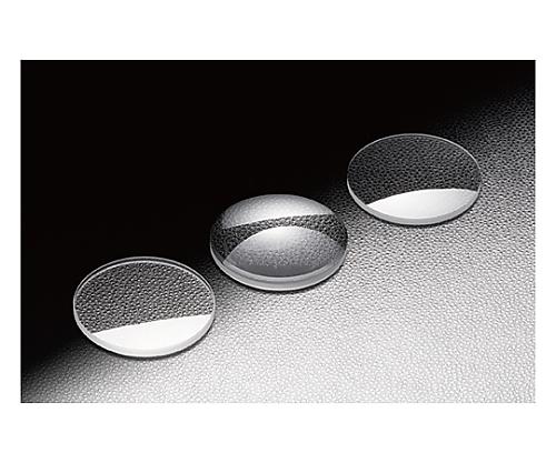 球面平凸レンズ BK7 φ15mm 焦点距離80mm
